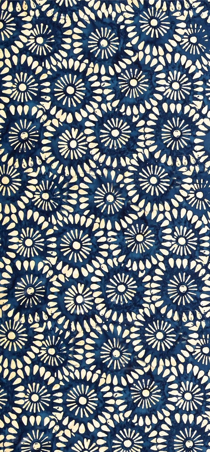 batik (?) flower pattern  |  inspirationlane.tumblr.com
