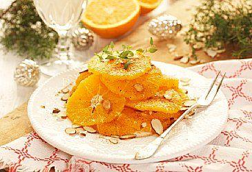 Eksotisk påskedessert; Appelsinsalat fra Marokko