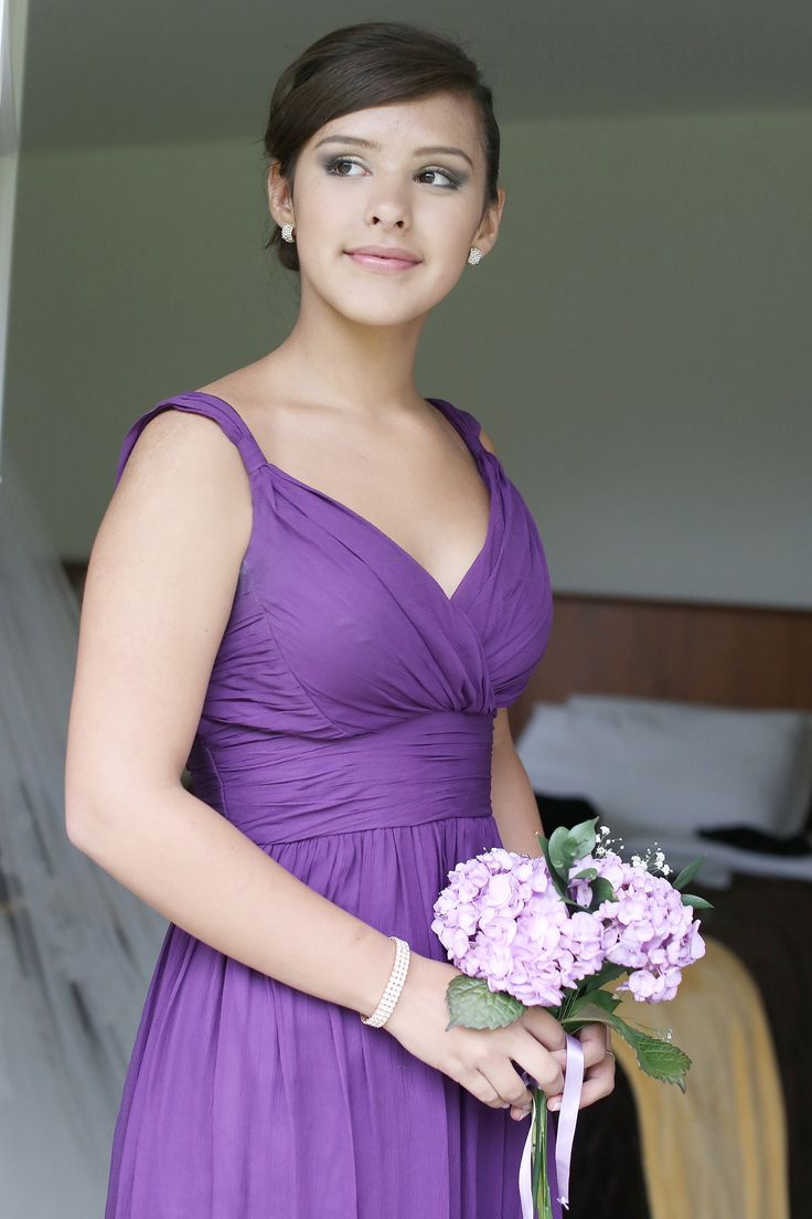 11 best amethyst images on Pinterest | Bridesmaid gowns, Bridesmaids ...