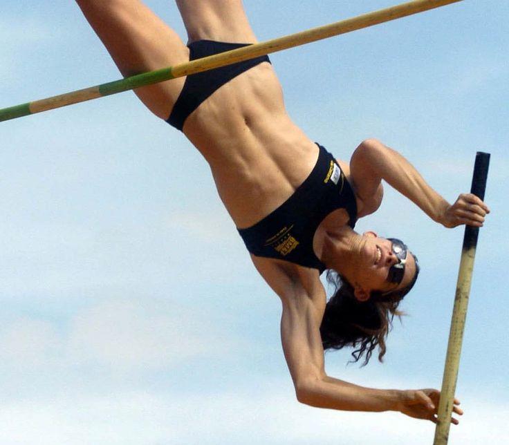 Can Top women pole vaulter