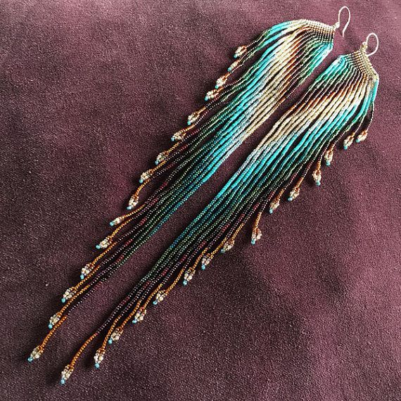 Maui Swan Designs beautiful Native Wing indigenous inspired glass seed bead…