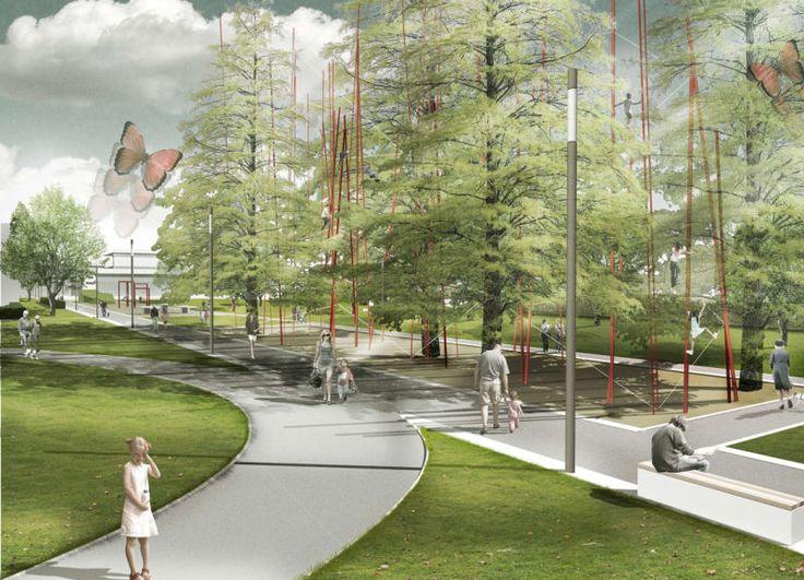 Planorama Landschaftsarchitektur · Hugo-Junkers-Park