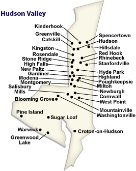 21 best Map of Hudson Valley NY images on Pinterest