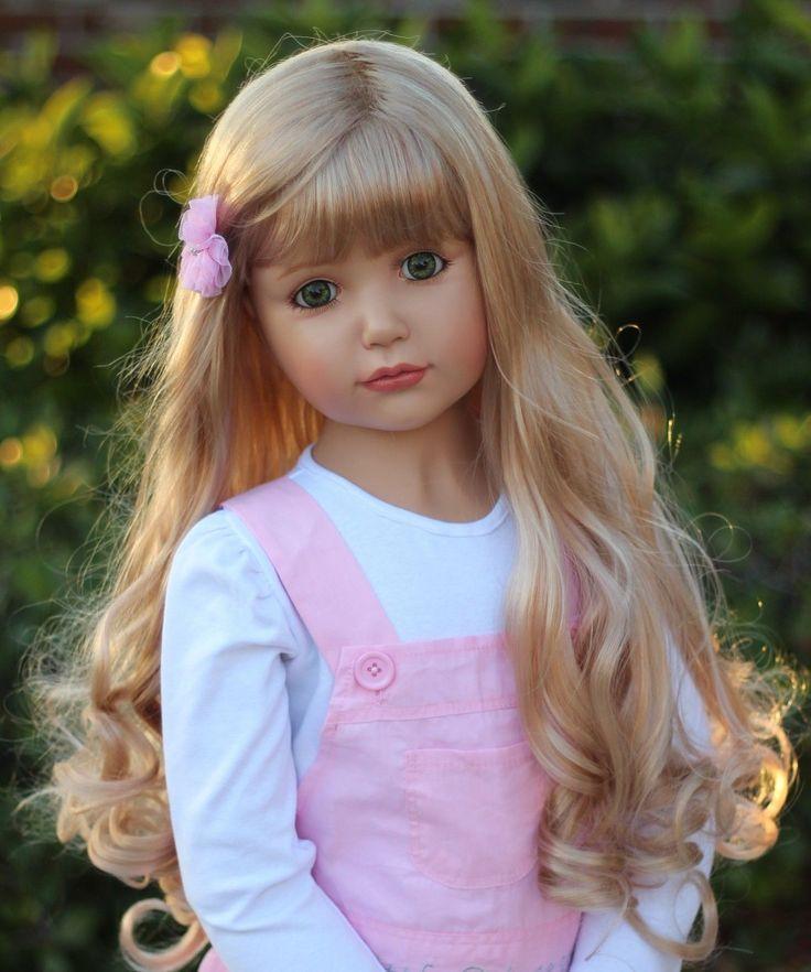 RARE Masterpiece Dolls Emily Blonde Green Eyes by Monika Peter Leicht   eBay