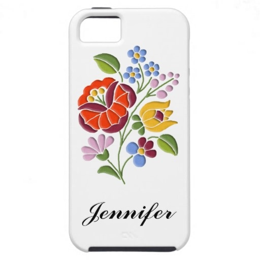 #Kalocsai Embroidery - authentic #Hungarian Folk Art design on personalizable #iPhone 5 $47.60