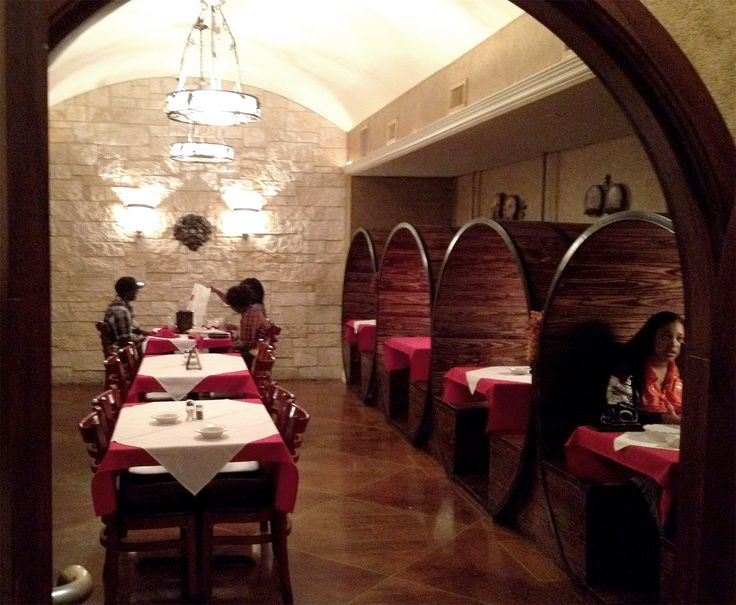 wine booths | Wine Barrel Booths for a Restaurant ...