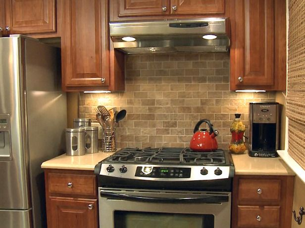 Kitchen Tile Backsplashes   How to Tile a Kitchen Backsplash : How-To : DIY Network