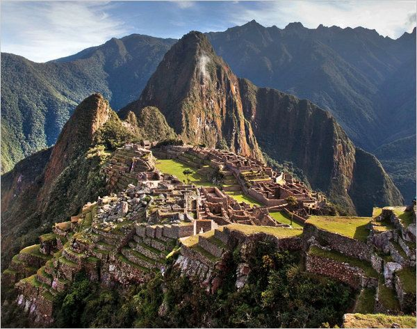 In Peru, Machu Picchu and Its Sibling Incan Ruins Along the Way - NYTimes.com