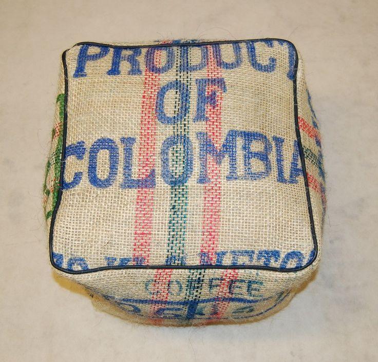 Gávea coffee sack footstool 8