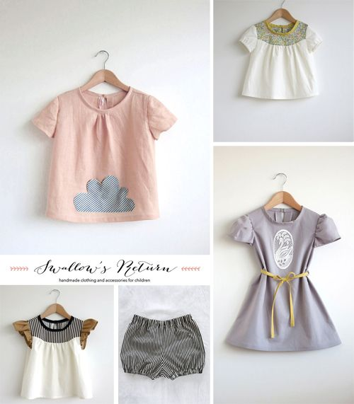 Swallow's Return handmade clothing on Etsy