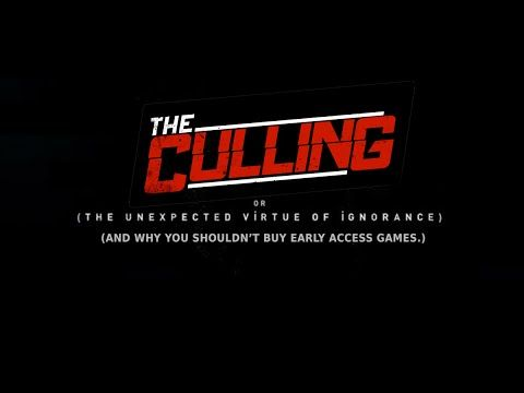 I purchased The Culling during the Steam Sale. Last night I waited 110 minutes to get into a game. Here's proof.