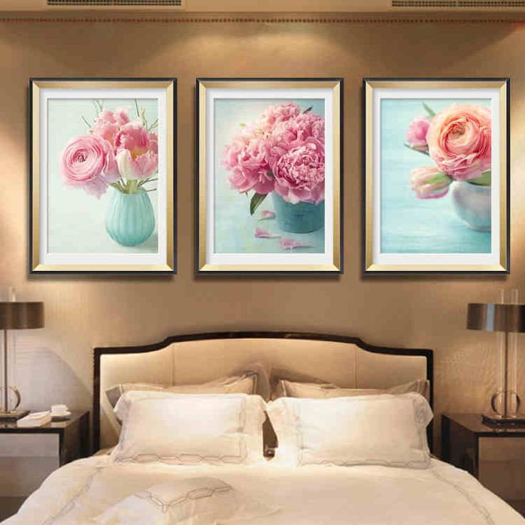 Новая гостиная 5D алмазная паста алмазные картины живопись вышитые алмазные сторона дрель смолы дрель спальня цветы пиона - Taobao