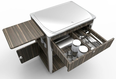 Kitchen Pod Vw Camper Van Conversions Vw Campers Styling Designs Pinterest