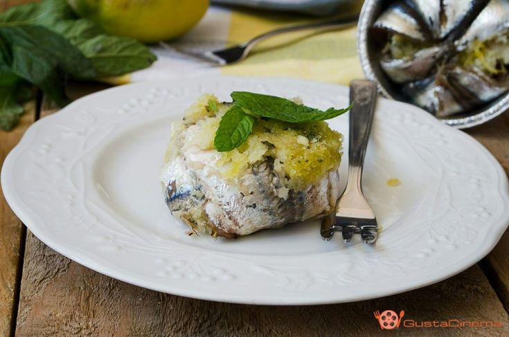 Tortino di alici, limone e menta - di Mira Palma #fuudly #ricette