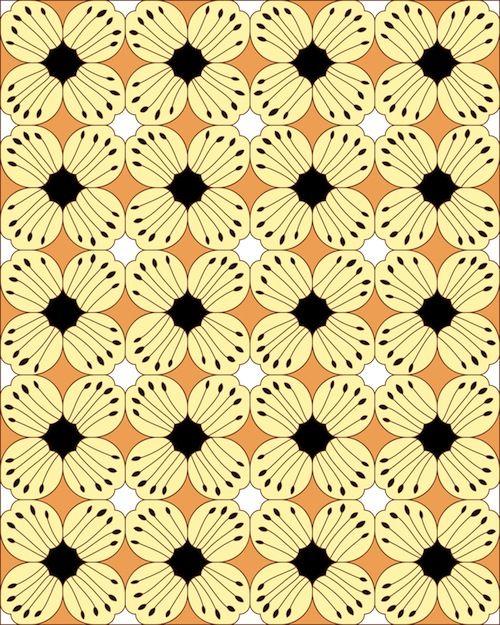 Batik Pattern Kawung Prabu