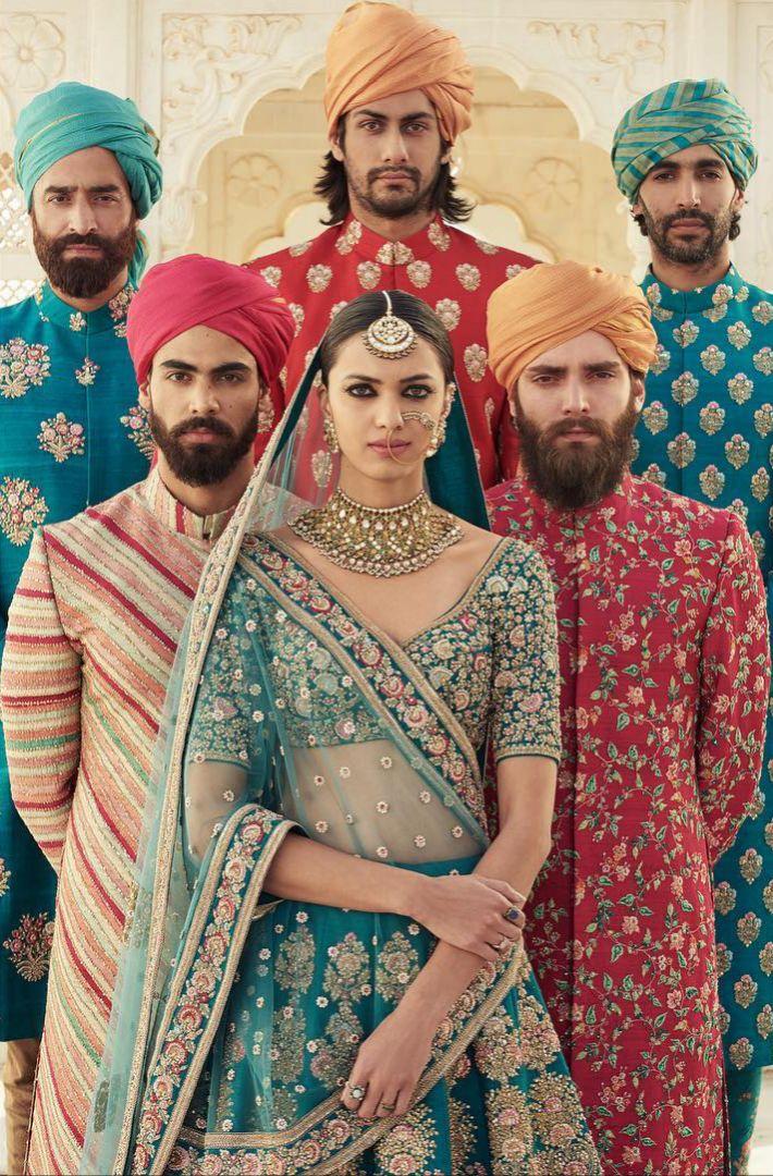 The Udaipur Collection by Sabyasachi Mukherjee | Mharo Gulabi | Spring Couture 2017 #indianfashion