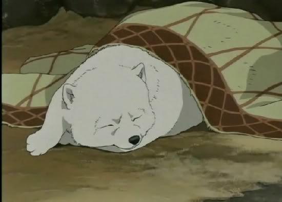 Baby Kiba from Wolf's Rain Episode 19