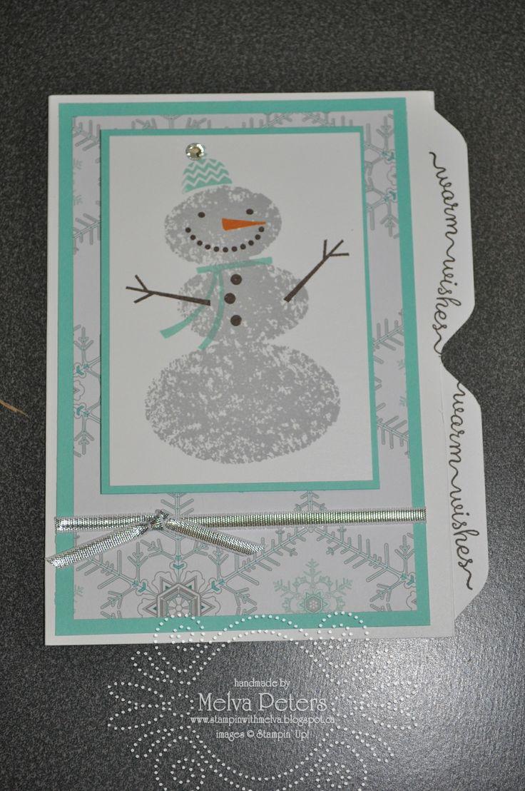 Snow Day File Folder Card