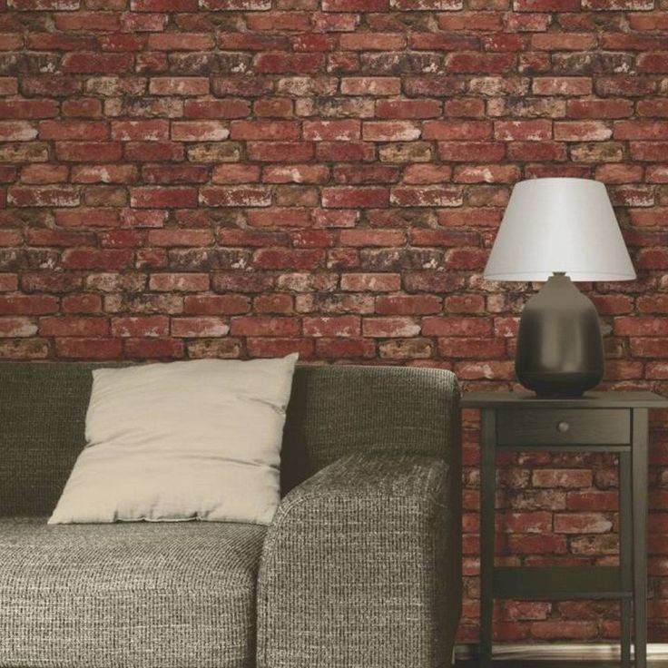 Fine Decor Red Brick Effect Wallpaper  This fantastically realistic Fine Decor Red Brick Effect Wallpaper will make a great feature in any room! The design is based on a classic rustic red brick wall and is printed on to luxury heavyweight paper to ensure durability and a quality finish. Realistic rustic red brick design wallpaper 10m (32.8 ft) long, 52cm (20.5 in) wide 53cm pattern repeat Luxury heavyweight wallpaper Easy to apply Colour: Red / Orange