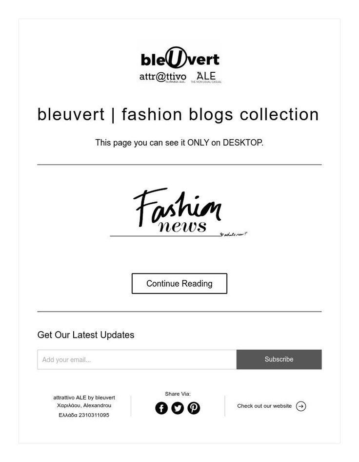 bleuvert | fashion blogs collection