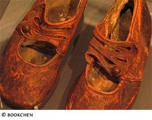 Pair of Children's Shoes from the Titanic