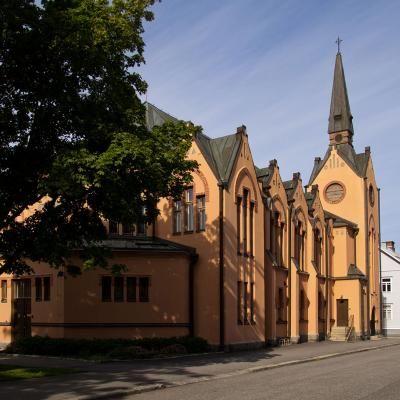 Palosaaren kirkko. GB Brando kyrka 1