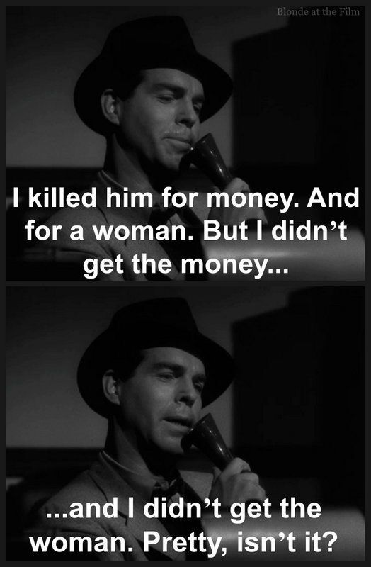 Double Indemnity: Fred MacMurray