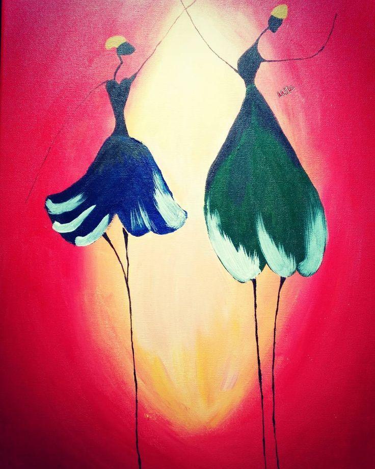 Müziği duyamayanlar , dans edenleri görünce , deli sanırlar... #dans #kırmızı #red #green #blue #mavi #yeşil #artist #art #benyaptım #hobi #zevk #boya #girl #siyah  #black #mutluluk #müzik #deli #follow #me #Turkey #sanat #fırça #tablo #tuval http://turkrazzi.com/ipost/1524683036624215289/?code=BUowyTJDNz5