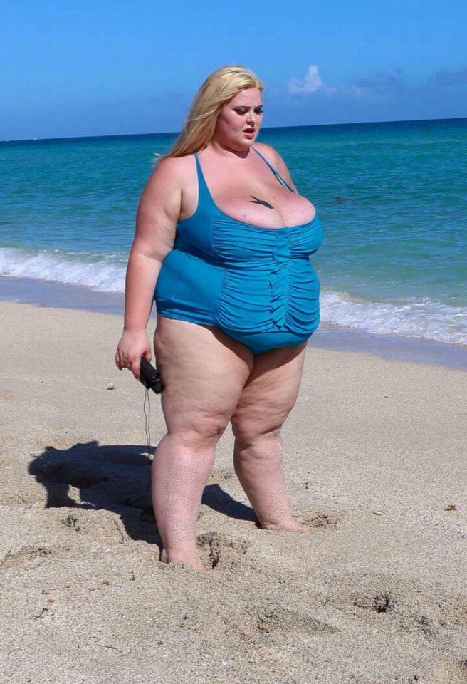 Ssbbw beach 2