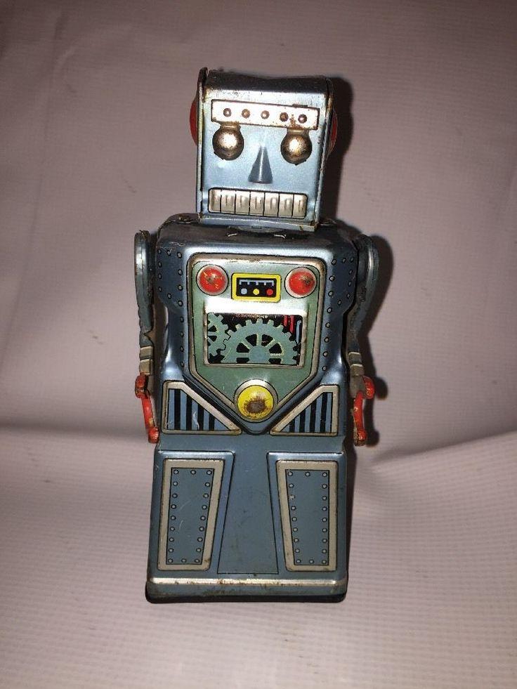 Super Rare Vintage Japanese J-hook Robot