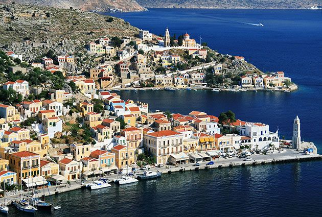 North Dodecanese, Symi, private yacht rental, guests3, www.barbarosyachting.com