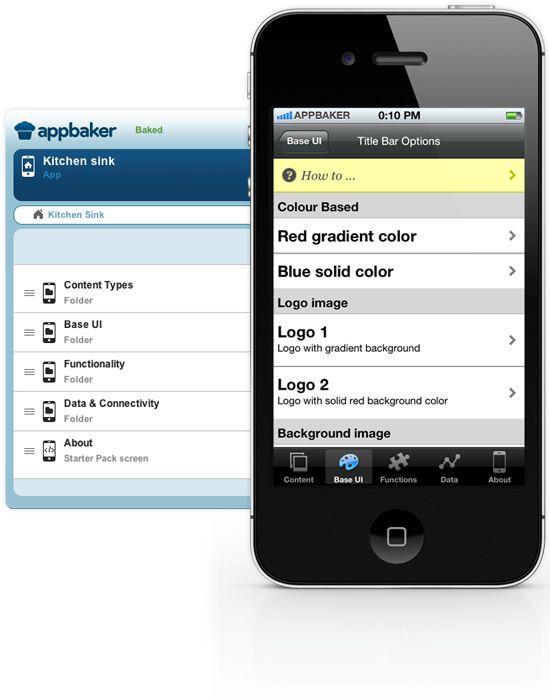 appbaker Event Mobile App.