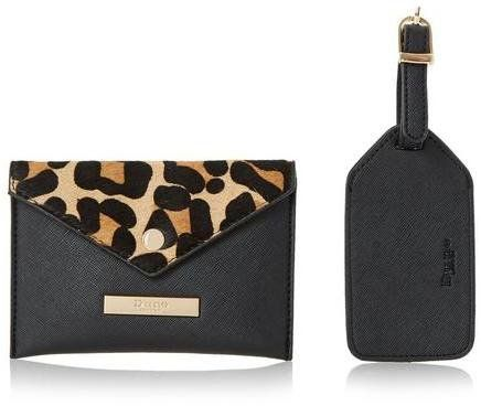 Pin for Later: 100 Editor-Approved Christmas Gifts For Everyone on Your List  Dune Leopard Passport Case and Luggage Tag (£29)