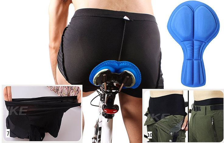 4ucycling 3D Silicon Gel Padded bike Underwear Shorts - Breathable,Lig – Cycling Jerseys, Cycling Clothing, Cycling Gear Wholesale & Accessory