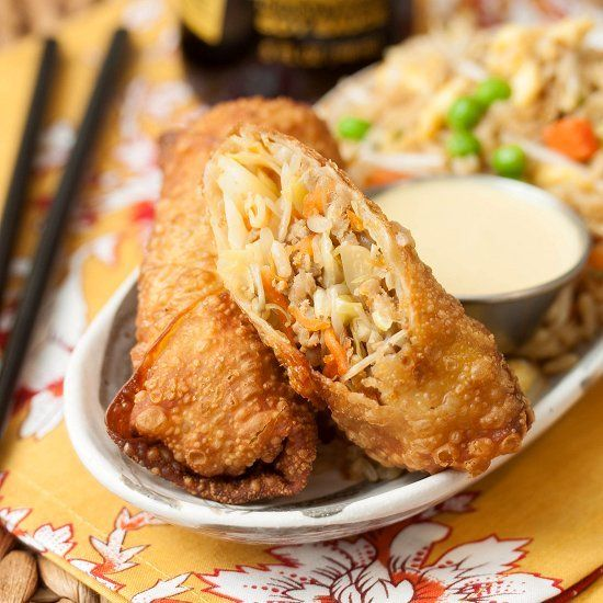 Pork Egg Rolls - once you've made egg rolls at home, you'll never be able to eat them in a Chinese restaurant again!