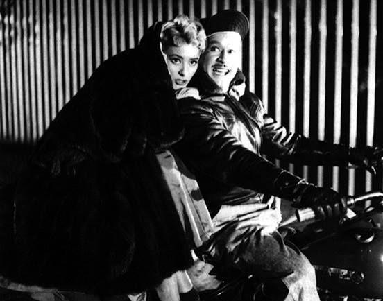 """Silvia Pinal y Pedro Infante en la genial comedia filmada en 1955, """"El Inocente"""", dirigida por Rogelio A. González Jr"""