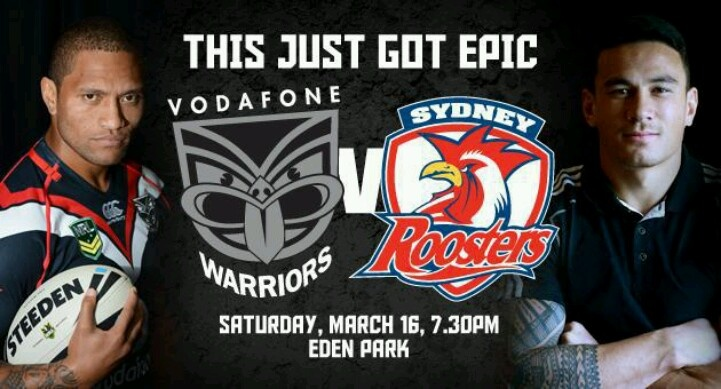 roosters vs warriors - photo #45