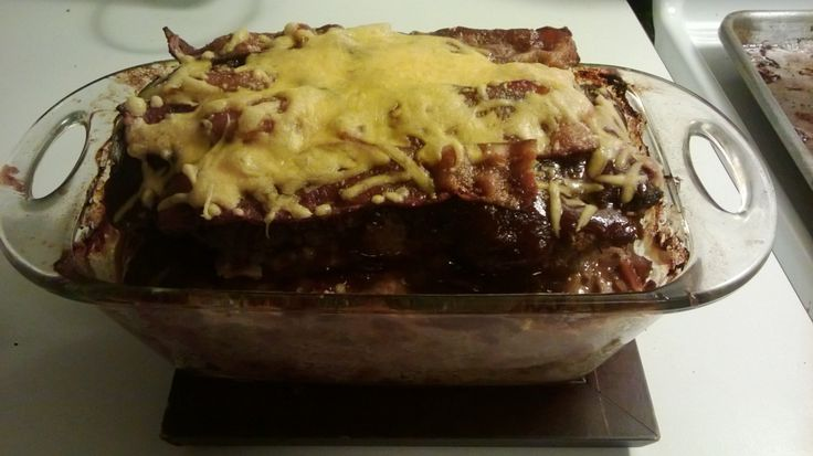 Barbecue Bacon Cheddar Meatloaf | Food! Glorious Food! | Pinterest