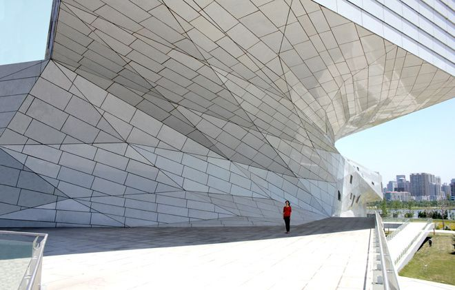 Taiyuan Museum of Art by Preston Scott Cohen