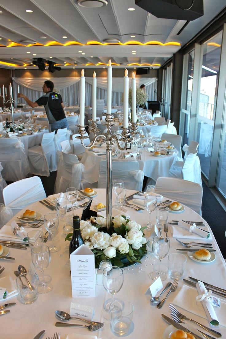 #silver plated candelabras #weddingcentrepiece