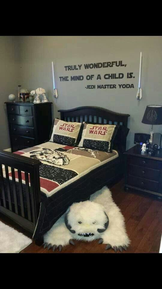 Star Wars kids bedroom