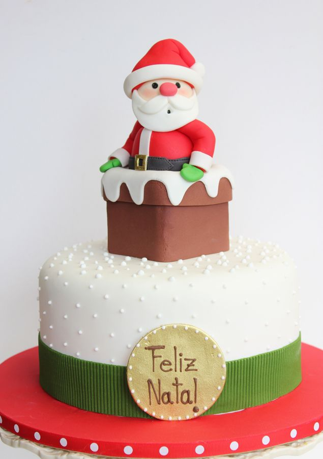 Bolo Papai Noel