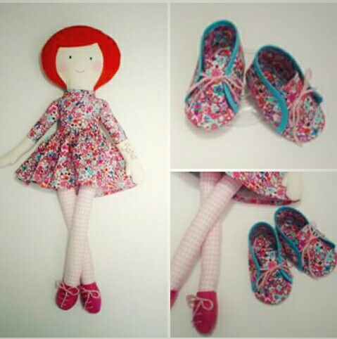 Cadou fetita.  Set papusa + botosei - by Pravalia cu Papusi  #cadoufetita #papusapersonalizata #botosei #pantofiori #papusacarpa #handMadeinRo #cadoubotez