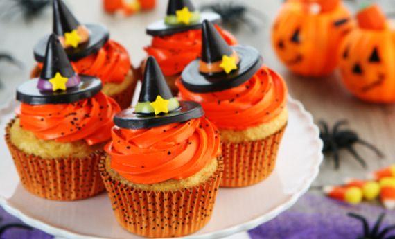 Cupcakes di Halloween con frosting delle streghe! | I dolcetti di Paola