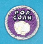 Popcorn Merit Badge @ Boy Scout Store. Tommy needs this one!