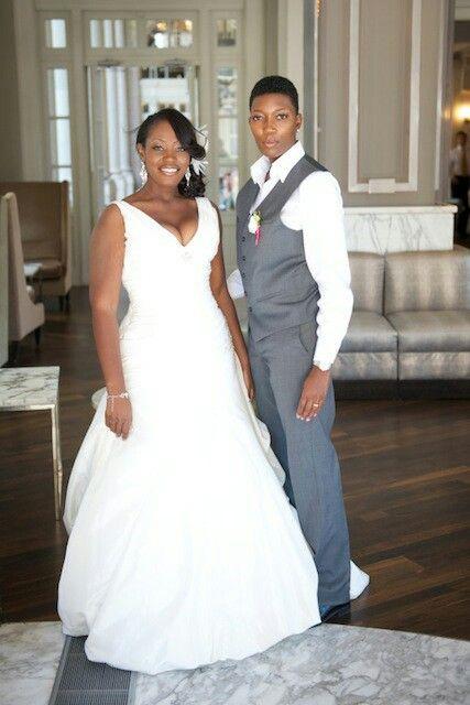 Black lesbian marriage