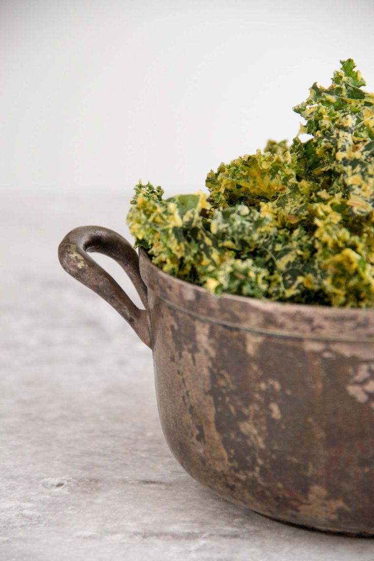 Curly Curry Kale Chips