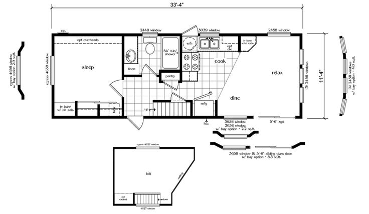 25 best ideas about mobile home floor plans on pinterest for 14 x 40 floor plan
