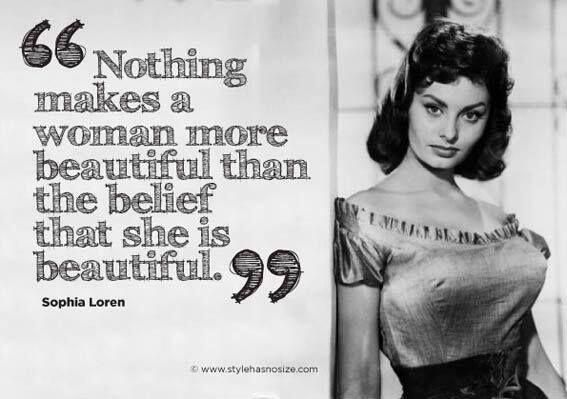 Believe it or not, Sophia Loren was once advised to get a nose job!