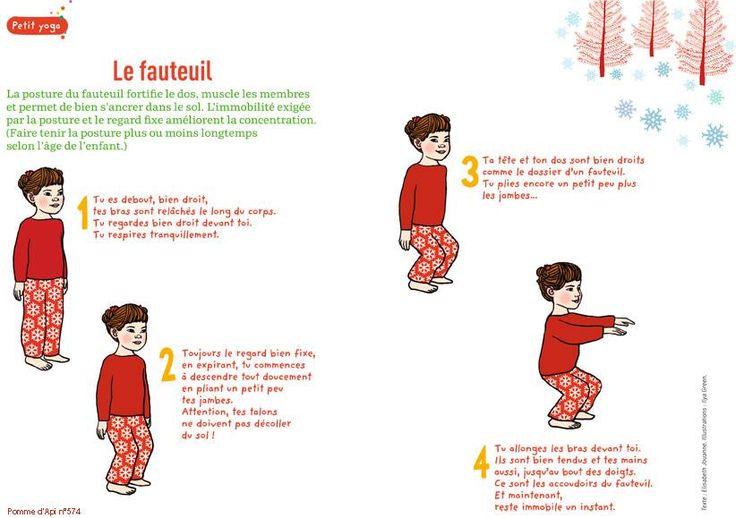 LE FAUTEUIL...fortifie le dos et muscle les membres.